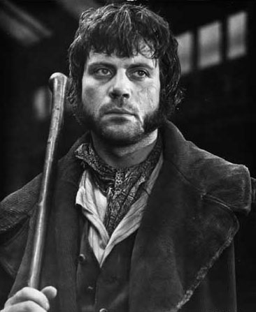 Bill Sykes Oliver Reed as Bill Sikes Celebrities in Disgrace