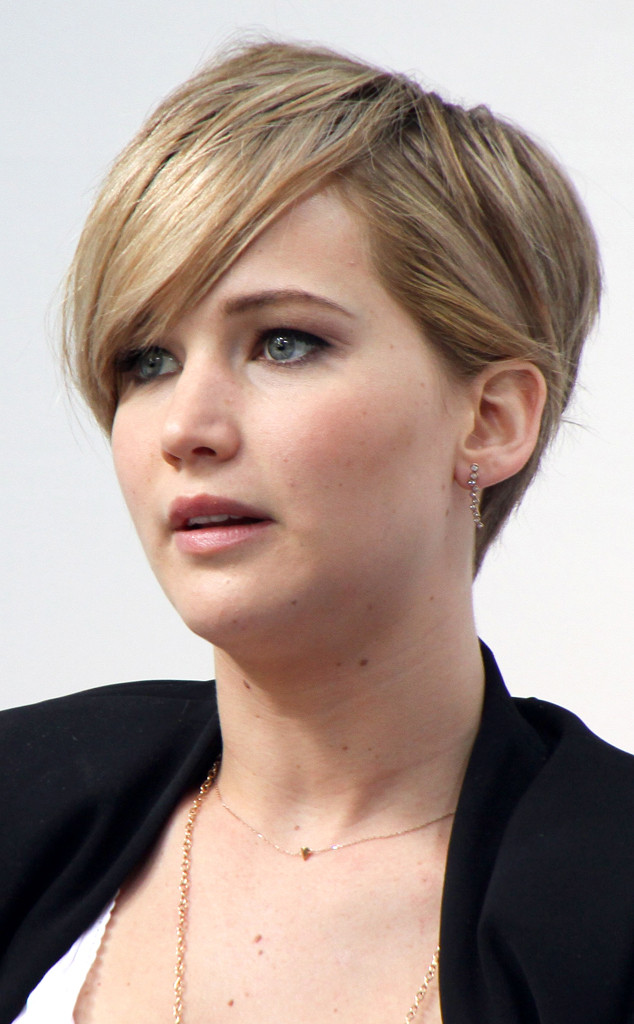 Jennifer Lawrence Short Hair Celebrities In Disgrace