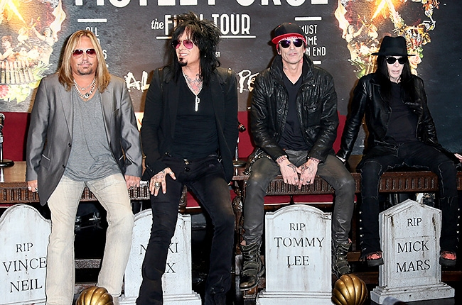 Motley Crue Final Tour Dates