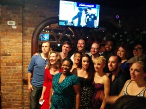 NYMF Opening night party: cast and crew